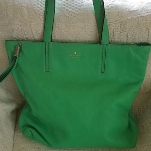 Kate Spade Tote Bag Purse~Spring Green Excellent